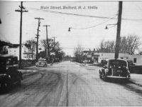 main street Belford 1940s